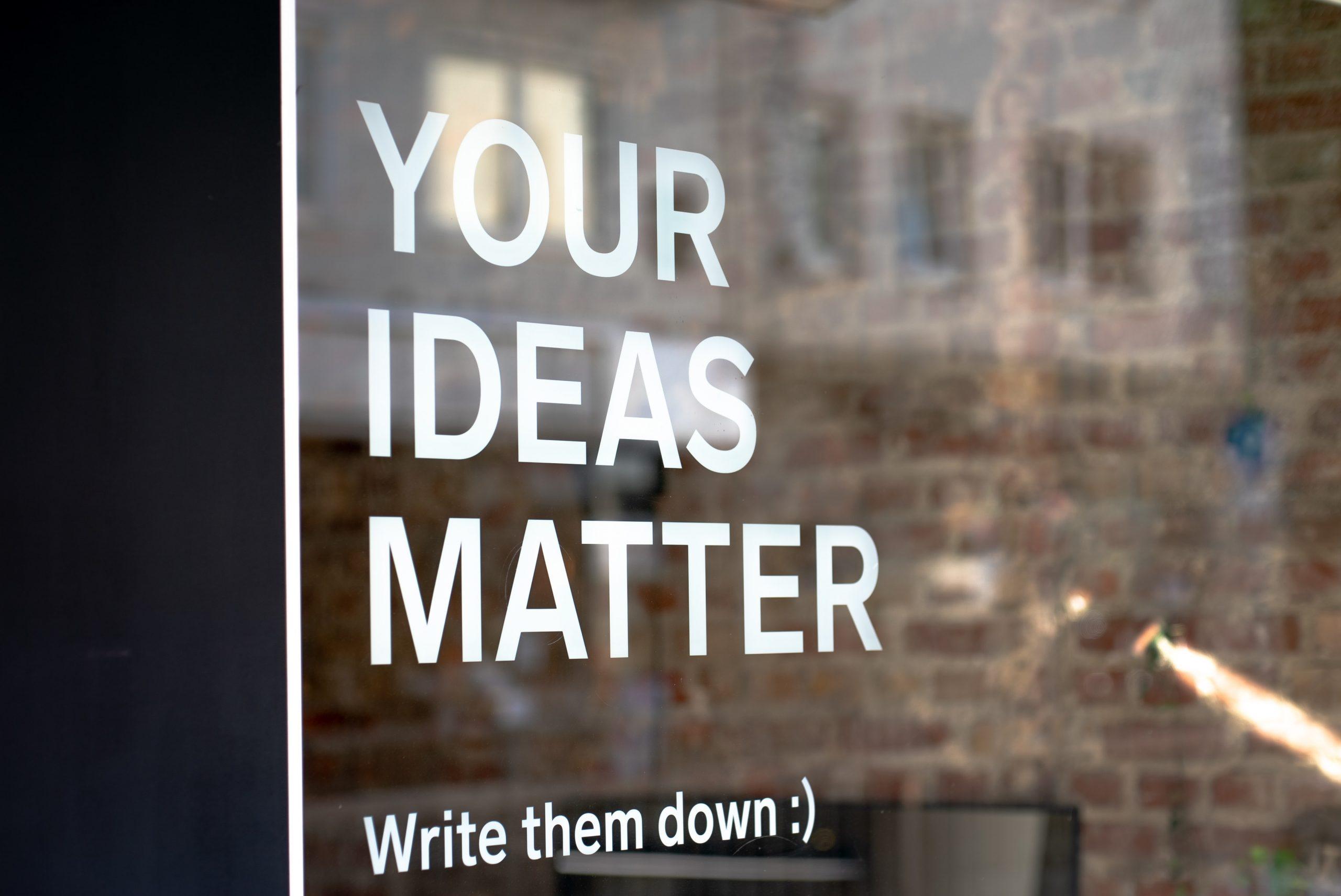 """The """"Million Dollar"""" Idea"""