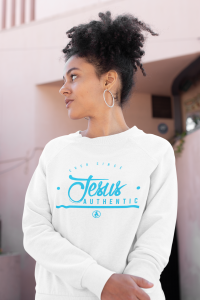 """""""Jesus Authentic"""" long sleeve tee by Do Christ Clothing"""